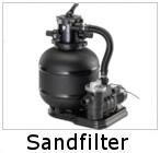 Sandfilteranlage